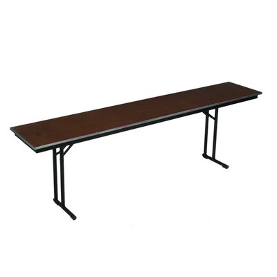 Midwest Folding Products Comfort Leg Seminar Table with Plywood Top