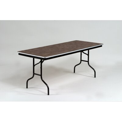 Midwest Folding Products ET Series Rectangular Folding Table with Aluminum Edge