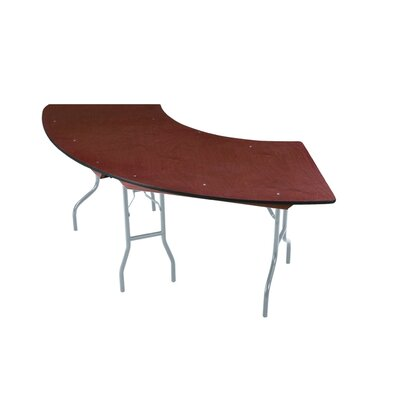 Midwest Folding Products EV Series Serpentine Folding Table with Vinyl Edge