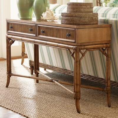 Beach House Palm Coast Distressed Console Table