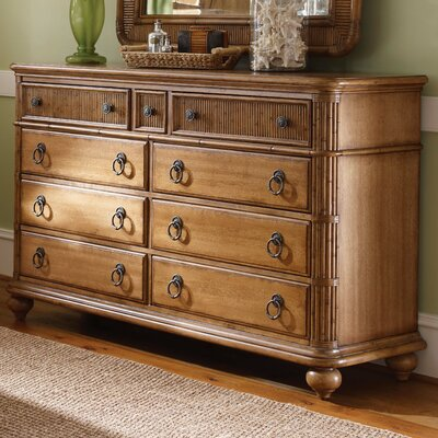 Tommy Bahama Home Beach House 9 Drawer Biscayne Dresser