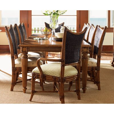 Tommy Bahama Home Island Estate Mangrove Woven Back Side Chair