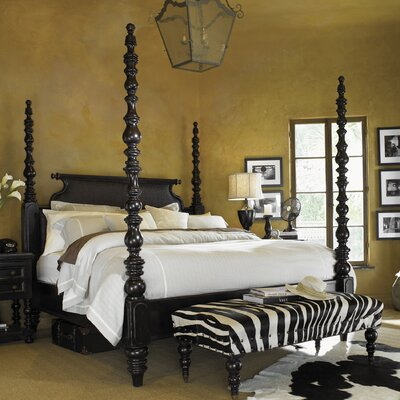 Tommy Bahama Home Kingstown Sovereign Four Poster Bed