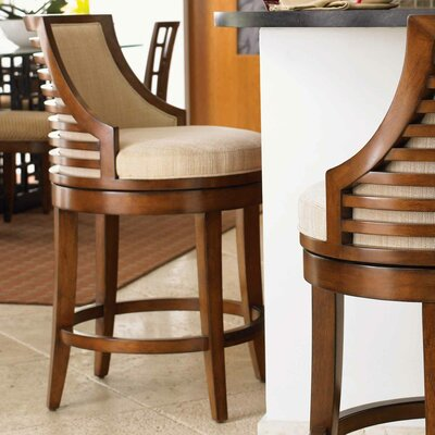 Ocean Club Swivel Counter Stool with Cushion