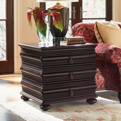 Tommy Bahama Home Royal Kahala Sands End Table