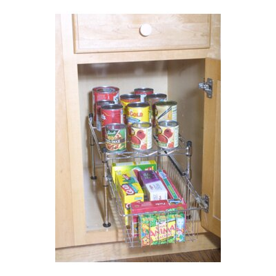 Sensible Storage Stacking Cabinet Organizer
