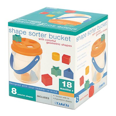 Shape Sorter Bucket Toy