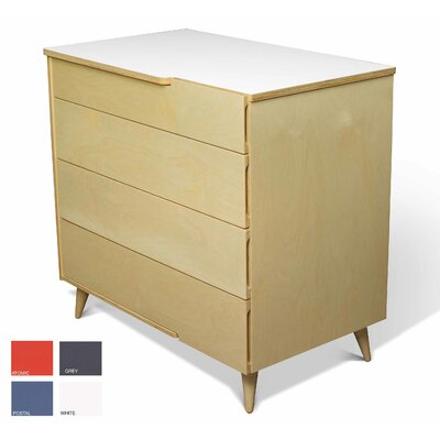 TrueModern 11 Ply 4 Drawer Dresser