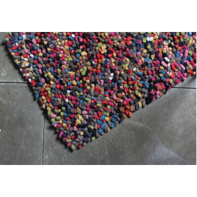 TrueModern Lil Wooly Multi Colored Rug