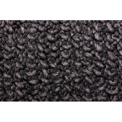 TrueModern Maca Charcoal Rug