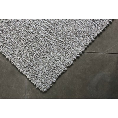 True Modern Maca Pewter Rug