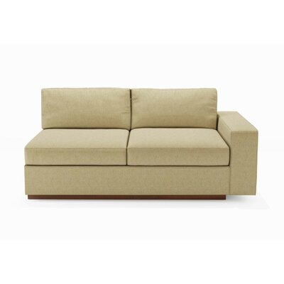 True Modern Jackson One Arm Love Sofa