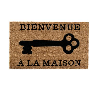 "Shiraleah ""Bienvenue"" Door Mat"