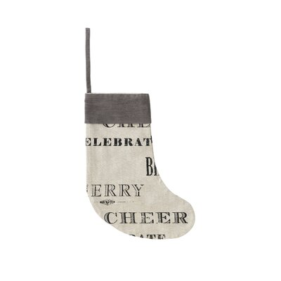 Shiraleah Holiday Decor Inspired Stocking