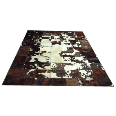 Spinneybeck White Spotted Center Haired Cowhide Rug