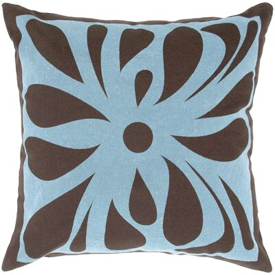 Flock Design Flowers Pillow
