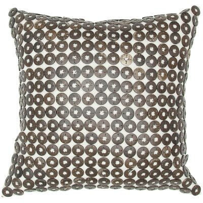 India's Heritage Button Pillow