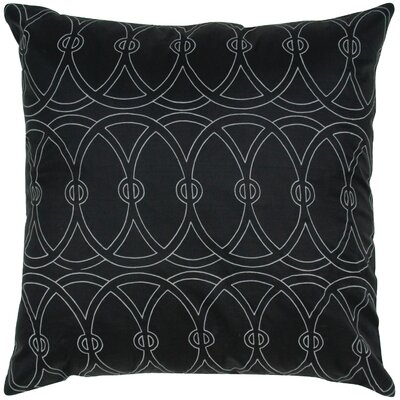 Print Entangle Circle Silk Pillow