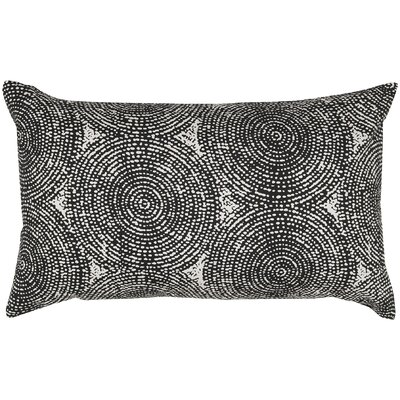 Swirl Print Pillow