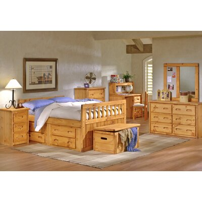 Chelsea Home Full Slat Bedroom Collection