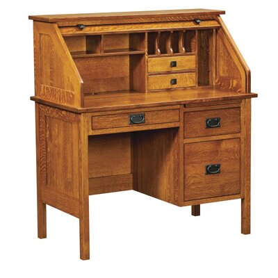 Harvard secretary roll top desk wayfair