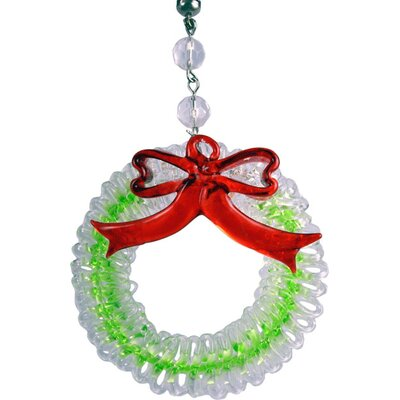 Light Charms Holiday Wreath Decorative Accent