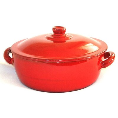 Piral Terracotta Risotto 4.5-qt. Saucier with Lid