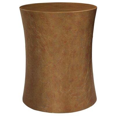 HGTV Home Textured Pedestal End Table