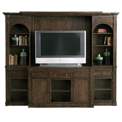 HGTV Home Woodlands Wall Entertainment Center