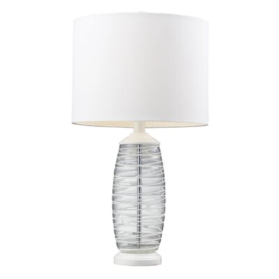 "HGTV Home Graphic Control 23"" H Table Lamp"