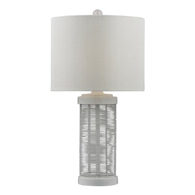 "HGTV Home Wire 24"" H Table Lamp with Drum Shade"