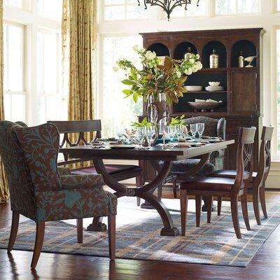 HGTV Home Woodlands Upholstered Bench