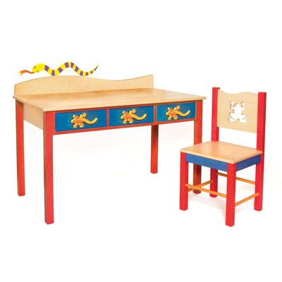 Room Magic Little Lizards Children's Table and Chair Set