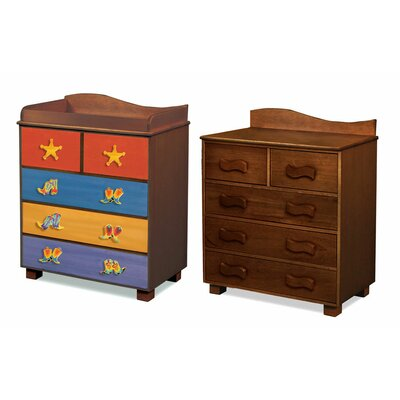 Room Magic Cowboy 5-Drawer Chest