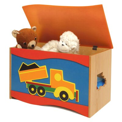 Room Magic Boys Like Trucks Toy Box