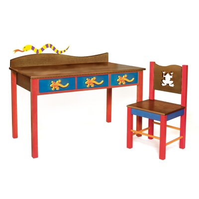 Room Magic Little Lizard Kids' 2 Piece Table and Chair Set