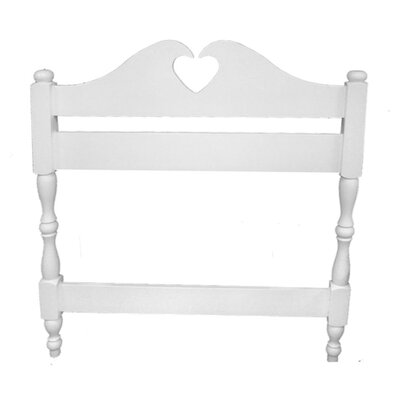 Room Magic Heart Twin Panel Headboard
