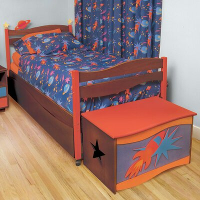 Room Magic Star Rocket Twin Bed