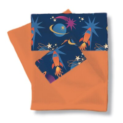 Room Magic Star Rocket Sheet / Pillowcase Set