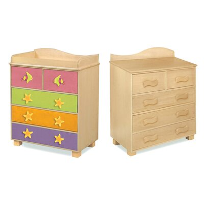 Room Magic Tropical Seas 5-Drawer Chest