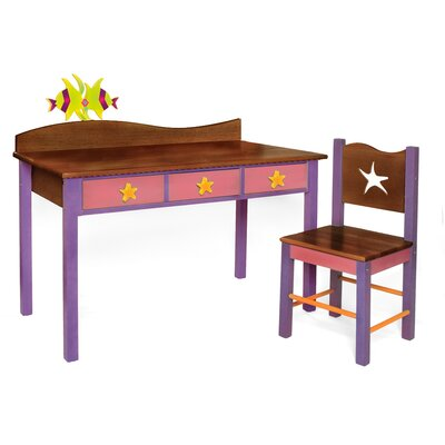 Room Magic Tropical Seas Kids' 2 Piece Table and Chair Set