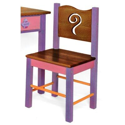 Little Girl Tea Set Desk Chair