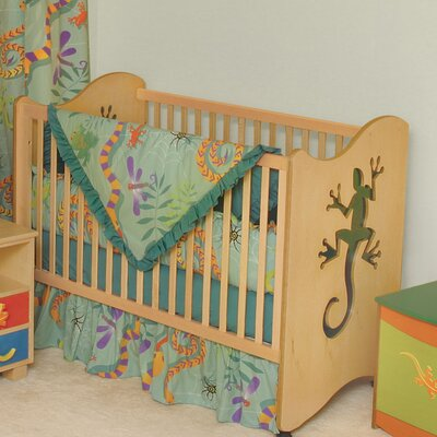 Room Magic Little Lizards 2-in-1 Convertible Crib