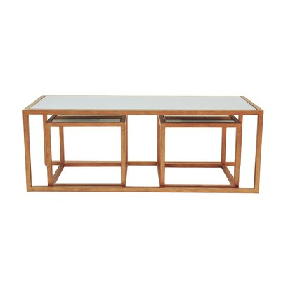 Allan Copley Designs Grace 3 Piece Coffee Table Set