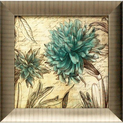 Blue Botanical I Framed Graphic Art