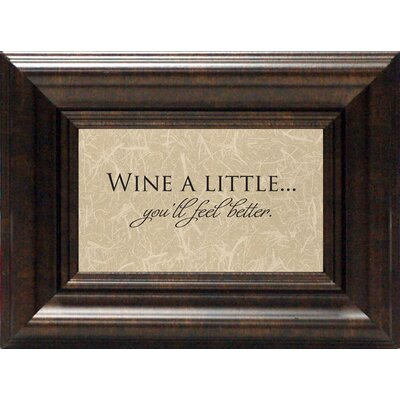 Artistic Reflections Wine A Little Print Art