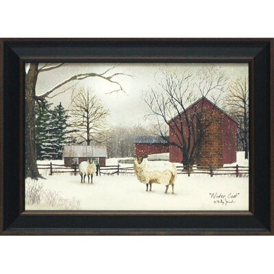 Winter Coat Framed Art