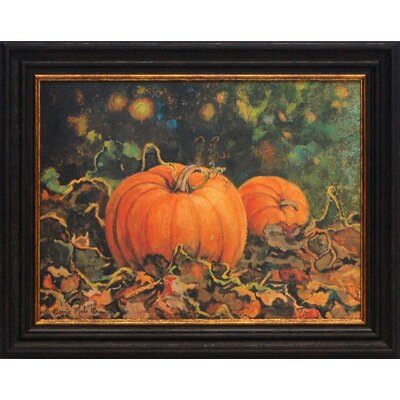 Pumpkin Patch Framed Art