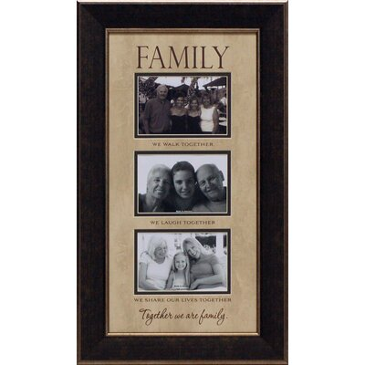 Artistic Reflections Family…We Walk Together Photo Frame