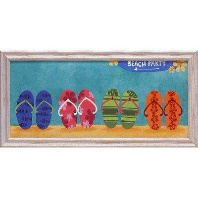 Beach Party Framed Art